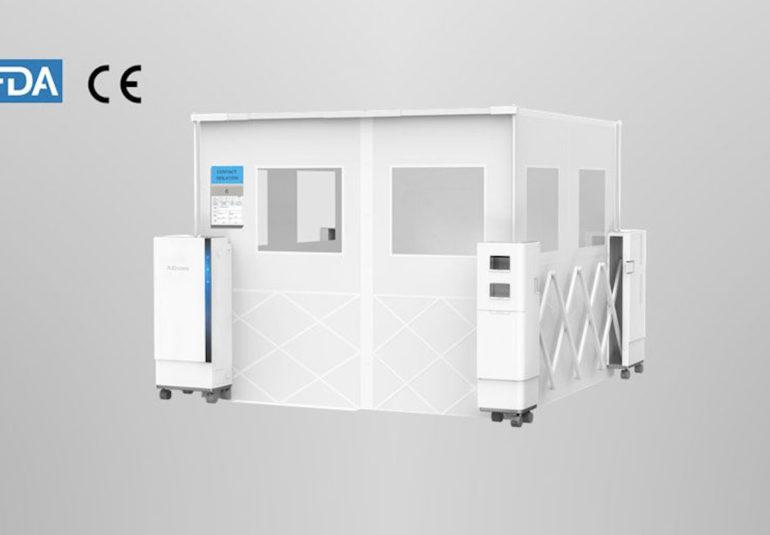 sROOM - Инновационное решение для изоляции инфекционных больных