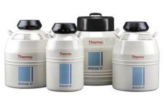 Системы хранения в жидком азоте Thermo Scientific BioCane