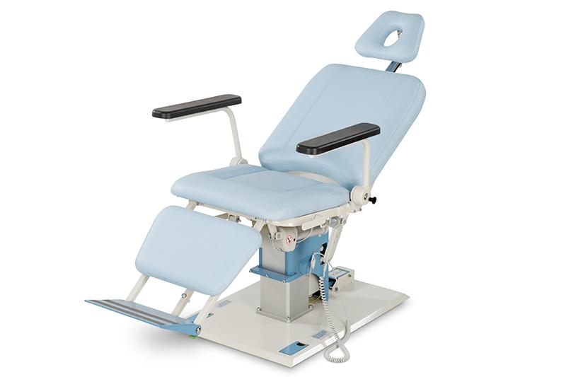 Поворотное смотровое и процедурное ЛОР кресло Lojer 6900