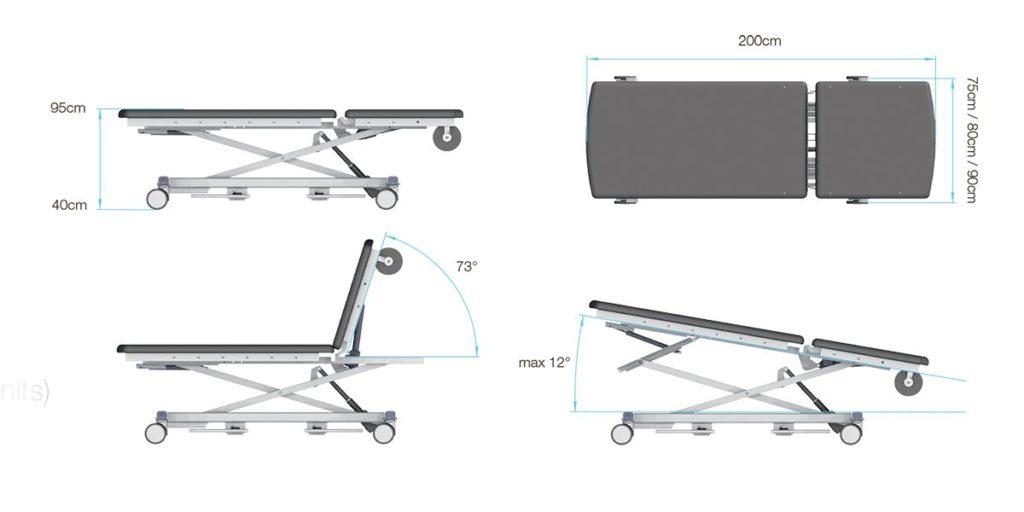 Смотровой стол 4040X