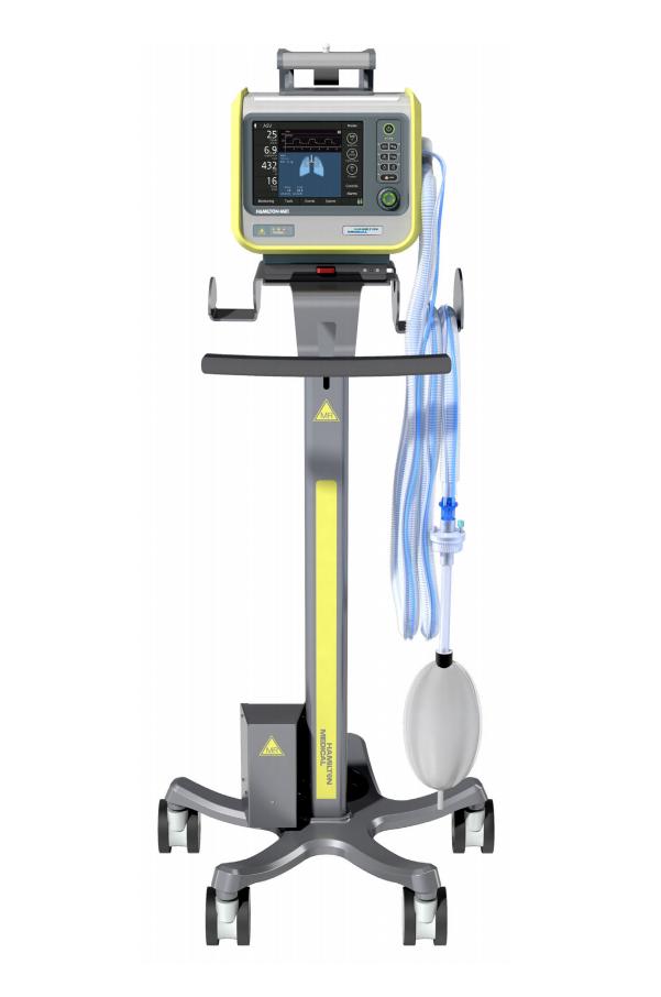 Аппарат ИВЛ HAMILTON-MR1 для кабинетов МРТ